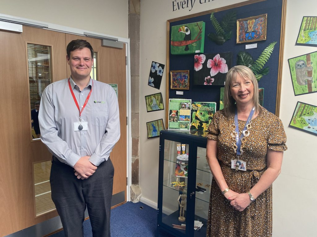 Mark Fryers and Susan J Whyld School IT Support Provider